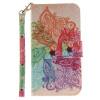 Красочные цветы Дизайн PU кожа флип кошелек карты держатель чехол для LG K10 флип кейс euro line vivid для lg k10