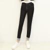 KuoyiHouse женские джинсы высокая посадка отбортовка
