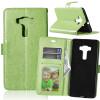 Зеленая классическая флип-обложка с функцией подставки и слотом для кредитных карт для Asus Zenfone 3 Deluxe ZS570KL смартфон asus zenfone 3 deluxe zs570kl 64gb gold 2g008ru