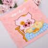 Фонтане A-Fontane0903 антибактериального полотенце McDull McDull мультфильма полотенца мыть полотенце мультфильма дети в детском саде противомикробных махрового полотенца (розовый) 34X34cm именные полотенца в воронеже