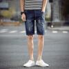 lucassa шорты мужчины пять брюки талии отверстие джинсовые шорты мужчины K130 Deep Blue 32 lucassa куртка мужская толстовка