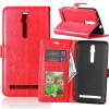 Red Style Classic Flip Cover с функцией подставки и слотом для кредитных карт для Asus Zenfone 3 ZS550ML pink style classic flip cover с функцией подставки и слотом для кредитных карт для asus zenfone zoom zx551ml