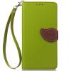 Зеленый дизайн Кожа PU откидная крышка бумажника карты держатель чехол для Nokia Lumia 530