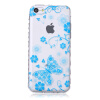 Голубая бабочка шаблон Мягкий чехол тонкий ТПУ резиновый силиконовый гель чехол для IPHONE 5С чехол для iphone 5с арбузики boom case