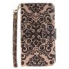 Дворец цветок дизайн искусственная кожа флип кошелек карты держатель чехол для LG K10