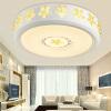 NVC (NVC) Светодиодное освещение потолка исследование лампы спальни лампа живой три тона сегмента 24W соответствующий уровень EKX9022 10-15 лампы освещение