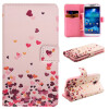 Розовый Сердце Дизайн Кожа PU откидная крышка бумажника карты держатель чехол для SAMSUNG Galaxy S4 I9500