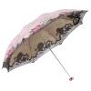 [Супермаркет] рай зонтик ВС Jingdong комаров бессмысленный цветок Ян тройной сверхлегких вышитых зонтики ВС зонтик синий 33081E да ладно зонтиклистья лето вс зонтик