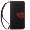 Черный Дизайн Кожа PU откидная крышка бумажника карты держатель чехол для LG G3/D858