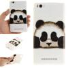 Обложка Panda шаблон Мягкий тонкий ТПУ резиновый силиконовый гель чехол для XIAOMI 4C/4I colosseo 70805 4c celina