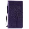 Purple Tree Design PU кожа флип крышку кошелек карты держатель чехол для HUAWEI HONOR 4X