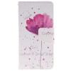 Фиолетовый орхидеи Дизайн PU кожа флип кошелек карты держатель чехол для HUAWEI P8 Lite фиолетовый орхидеи дизайн pu кожа флип кошелек карты держатель чехол для lg leon