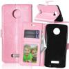 Pink Style Classic Flip Cover с функцией подставки и слотом для кредитных карт для Motorola Moto Z XT1650 pink style classic flip cover с функцией подставки и слотом для кредитных карт для asus zenfone zoom zx551ml