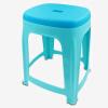 Джингдонг Кин супермаркет пластиковый стул стул дома гостиной стул большой пластиковый квадратный стул стул современный минималистский синий 0859 стул therme