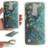 Абрикосовое дерево шаблон Мягкий тонкий ТПУ Резиновая крышка силиконовый гель чехол для LG K7