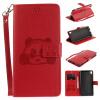 Красный Panda Стиль Тиснение Классический откидная крышка с подставкой Функция и слот кредитной карты для SONY Xperia XA Ultra/C6 смартфон sony xperia xa1 ultra dual