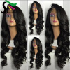SF Lace Front Ponytail Wigs For Black Women 9A Loose Wave Peruvian Virgin Human Hair Lace Wigs With Baby Hair 7a none full lace human hair wigs short straight glueless unprocessed virgin brazilian lace front wig black women