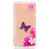 Розовый шаблон бабочки Мягкий тонкий резиновый корпус силиконового геля TPU Чехол для HUAWEI Y5 II смартфоны huawei y5 2017 grey