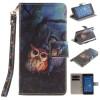 Картина маслом Сова Дизайн Кожа PU откидная крышка бумажника карты держатель чехол для SONY Xperia Z3