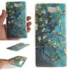 Абрикосовое дерево шаблон Мягкий тонкий ТПУ Резиновая крышка силиконовый гель чехол для HUAWEI Y5 II смартфоны huawei y5 2017 grey