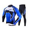 Mai Senlan MYSENLAN M02045 весной и летом с длинными рукавами джерси костюмы мужские брюки, куртки горы на своей собственной задействуя одежды короля - синий L 63 rose de mai