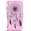 Dreamcatcher Дизайн Кожа PU откидная крышка бумажника карты держатель чехол для IPHONE 5 цветочный дизайн кожа pu откидная крышка бумажника карты держатель чехол для iphone 7g