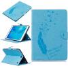 Светло-голубые перья Стиль Тиснение Классический флип-обложка с функцией подставки и слот для кредитных карт для Samsung Galaxy Tab A 9.7 T550 аксессуар защитная пленка samsung galaxy tab a t550 9 7 ainy глянцевая