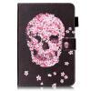 Розовый Череп Дизайн Кожа PU откидная крышка бумажника карты держатель чехол для SAMSUNG T580 кухонный смеситель omoikiri tateyama s be латунь гранит ваниль 4994141