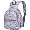 MOMOgirl Девушка сумка рюкзак школьного дикие моды случайного холст мешок новые влагозащищенная M5282 обнаженных цветов пончики клавиатура mp 09a33su 5282