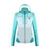 купить 8264 2017 открытая кожа одежды ударила оттенок цвета весной и летом моды разреженного воздуха проникающей профилактической куртка K7S1V0505 белых / синий и M дешево