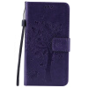 Purple Tree Design PU кожа флип крышку кошелек карты держатель чехол для SAMSUNG C5 pink tree design pu кожа флип крышку кошелек карты держатель чехол для samsung c5