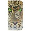 Желтый тигр Дизайн Кожа PU откидная крышка бумажника карты держатель чехол для IPHONE 5С стоимость