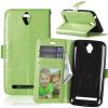 Зеленая классическая флип-обложка с функцией подставки и слотом для кредитных карт для Asus Zenfone Go ZC451TG asus zenfone go zc451tg