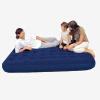 Bestway складной кровать надувные матрасы двойной воздушной подушке кровать кровать для кровати кровать кровать для кровати (с электрическим насосом 1) 67004