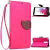 Розовый Дизайн Кожа PU откидная крышка бумажника карты держатель чехол для LG G3 Stylus оригинальный чехол quickcircle для lg g3 s