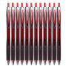 Mitsubishi (Uni) UBN-176 нажимать на шариковые ручки, сделанные ручкой пера ручка 0,5 мм шариковая ручка, водонепроницаемая шариковая ручка красного цвета (12 загрузочных) mitsubishi uni sx 210 масло джеймс дин эскиз ручки гелевые ручки 1 0 мм черные чернила 12 палочек