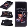 Медведь Дизайн PU кожа флип кошелек карты держатель чехол для SAMSUNG GALAXY S8 Plus/S8 Edge
