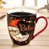 Люби меня, люби зеленый (Evergreen) любителей творческой чашки кофе кружка керамическая чашка завтрак молоко чашки кружка птичье молоко