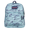 JANSPORT叛逆系列双肩包背包书包T5010Z5多彩色 聪明豆绘本系列:小海螺和大鲸鱼
