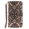 Дворец цветок дизайн искусственная кожа флип кошелек карты держатель чехол для LG G4