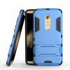 Синий Slim Robot Armor Kickstand Ударопрочный жесткий корпус из прочной резины для ZTE AXON 7