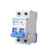 CHINT (CHNT) цепи выключателя воздушный выключатель автоматический выключатель 2P 63A бытовые C63 NBE7 автоматический выключатель sh202l 2p 10а с 4 5ка