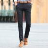 Крокодил повседневные брюки мужские брюки прямые тонкие брюки брюки бесплатно Горячие повседневные брюки 8616 черный 29 брюки nanso брюки
