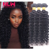 Malaysian Deep Wave Human Hair Extension Virgin Hair Weave 3 Bundles for Black Women Wet and Wavy Human Hair Bundles Sewin Weave сыворотка для роста ресниц и бровей delashious xeno