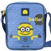 Французский посол (Delsey) Гадкий Я мультфильм портфель плече сумка 3 детей маленький желтый человек синий 70360513102
