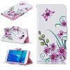 Розовый бабочка Дизайн PU кожа флип крышку кошелек карты держатель чехол для SAMSUNG Galaxy J5 2016/J510