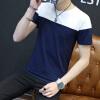 lucassa с короткими рукавами футболки мужские шею футболки заклинание цвета с короткими рукавами футболки мужчин T603 Black L lucassa короткими рукавами футболки