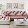 FANROL диван дивана четыре сезона диван диван диван подушка матрас линии простой диван подушки костюм Shangri-La красный 70 * 150 см