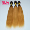 Nice Full 8A Ombre Brazilian Straight Virgin Hair 4 Bundles Extension DIY Sew In Sweet Lovely Hairstyle Frizz-free Black Girls best new product on sale 30% 750ml brazilian keratin hair treatment hair free shipping