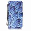 Blue Dazzle Дизайн PU кожа флип Обложка Кошелек для карты памяти чехол для Lenovo A7000